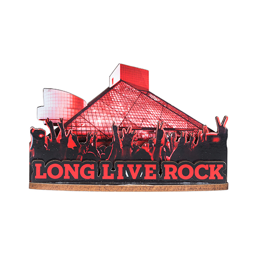 LONG LIVE ROCK 3D MAGNET