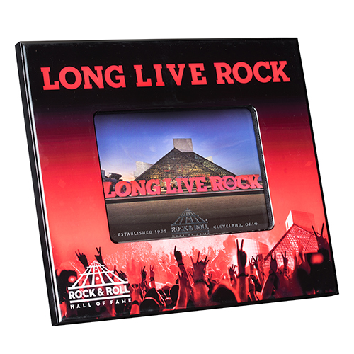 LONG LIVE ROCK PHOTO FRAME