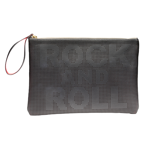 Rock And Roll Clutch Black