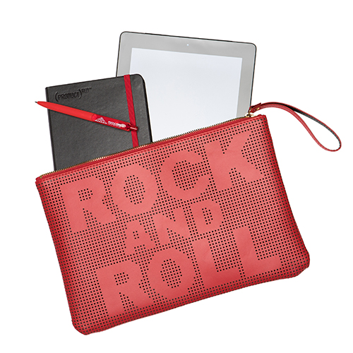 Rock And Roll Wristlet Red