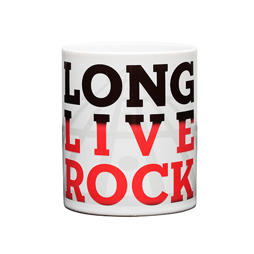 Long Live Rock Color Change Mug