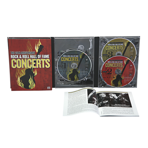 THE 25TH ANNIVERSARY ROCK & ROLL HALL OF FAME CONCERTS 3 DVD SET