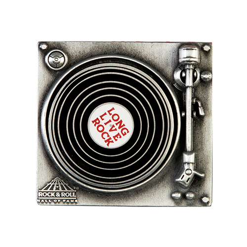 Long Live Rock Turntable Pin