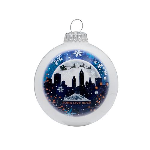 Cleveland Winter Sky Ornament