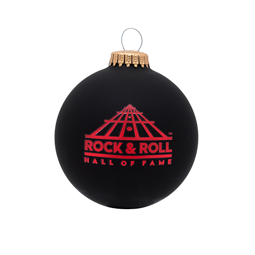 Black Rock N Roll Ornament
