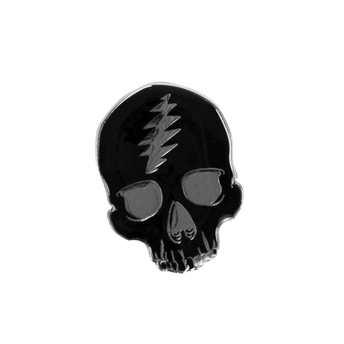 Enamel Skull Pin