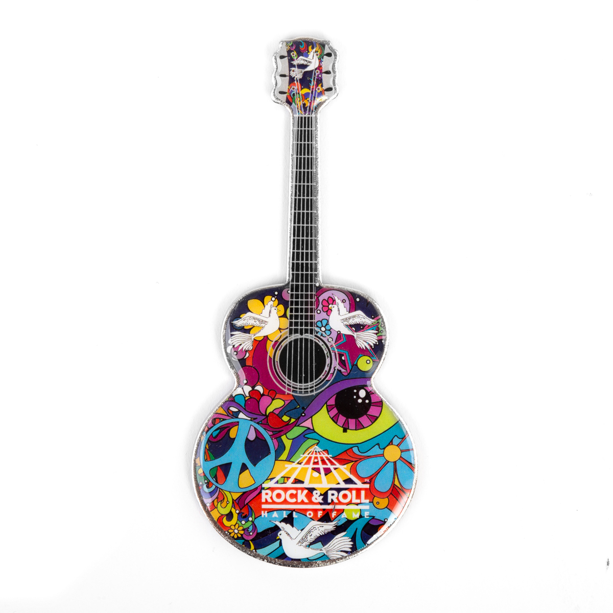 60'S Dove Guitar Magnet