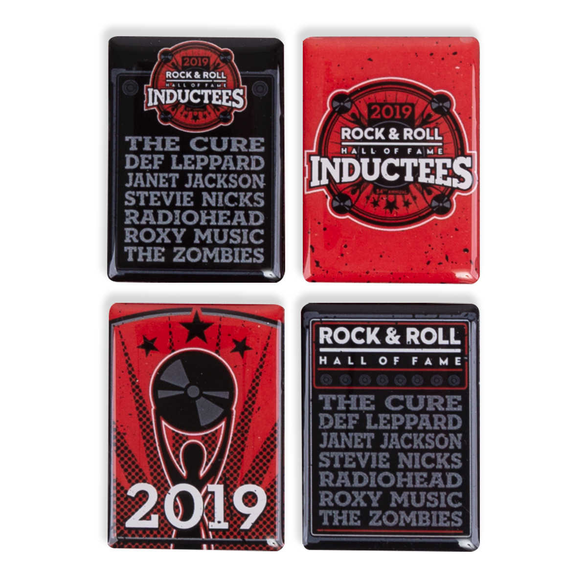 2019 INDUCTEE MAGNET SET