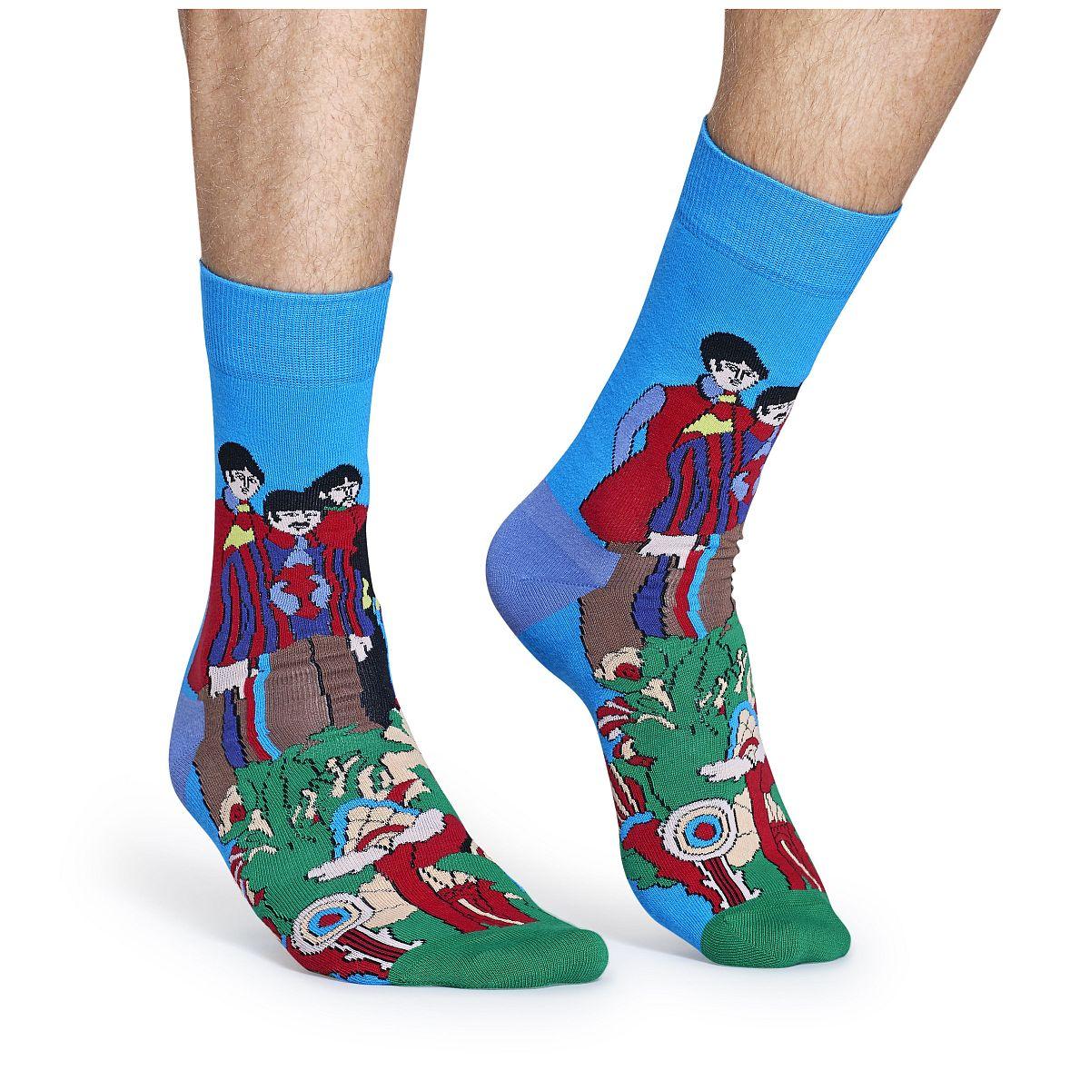 Beatles Pepperland Socks