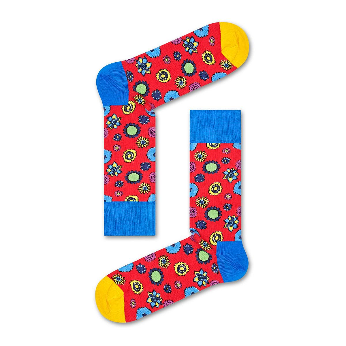 Beatles Flower Power Socks