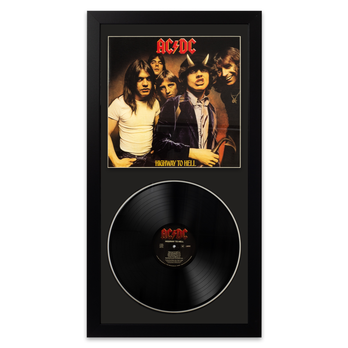 Ac/Dc Highway To Hell Wall Album