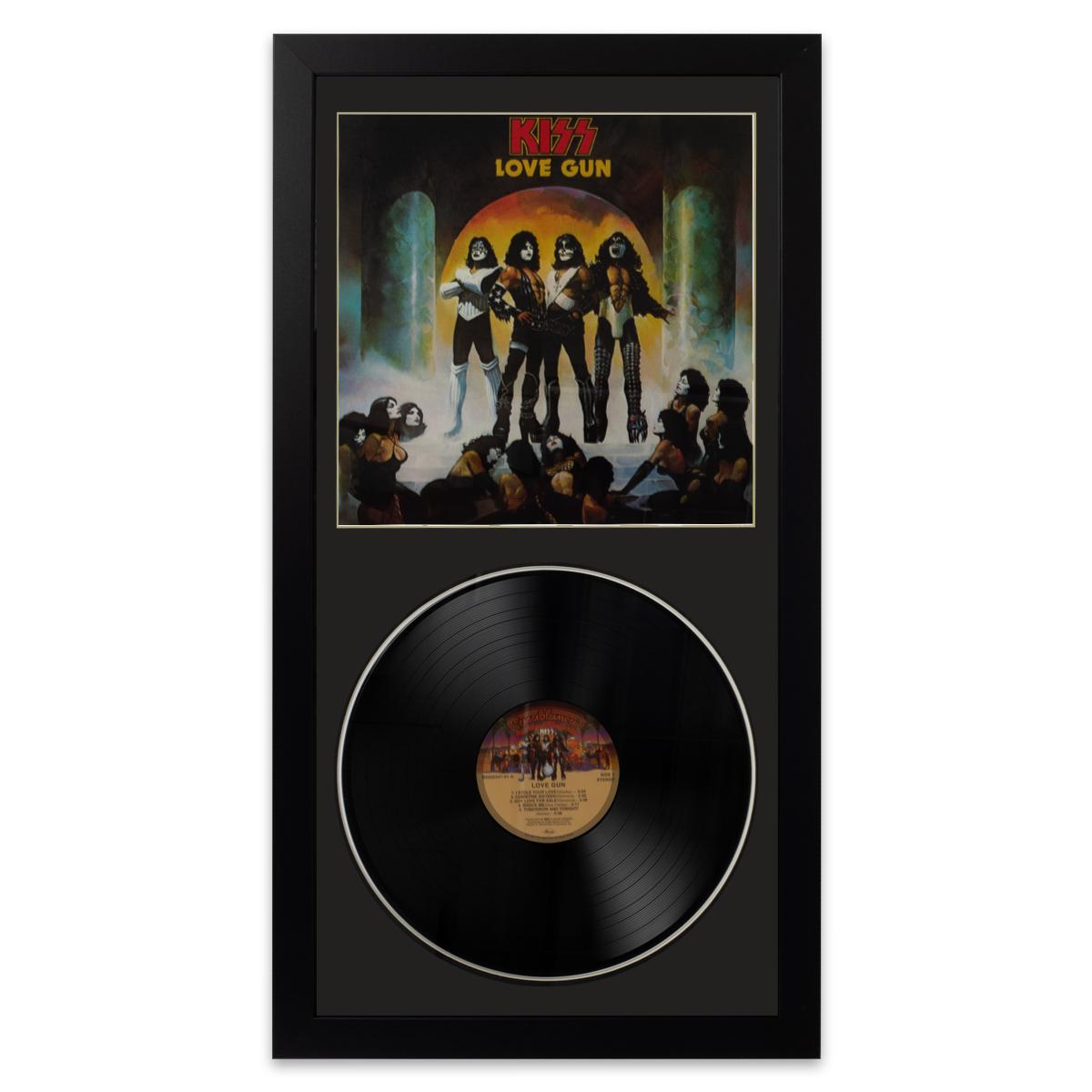 Kiss Love Gun Wall Album