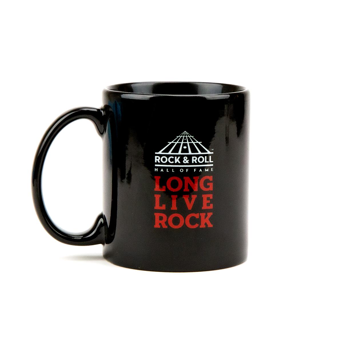 Bad Ass Guitar Pick Black Mug