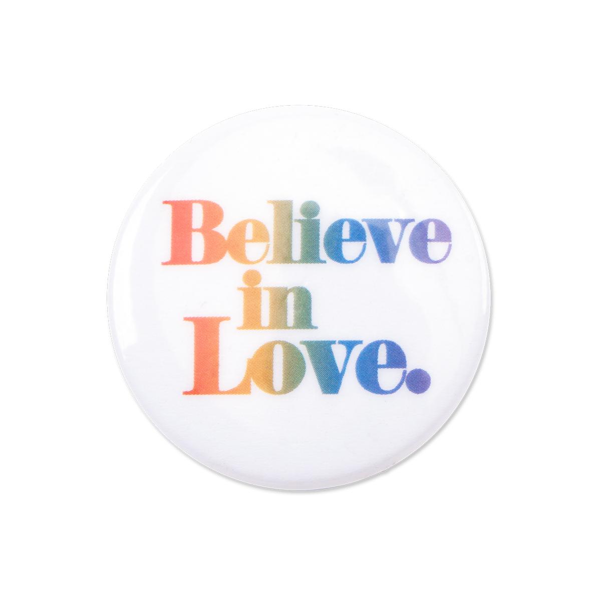 Believe In Love Button