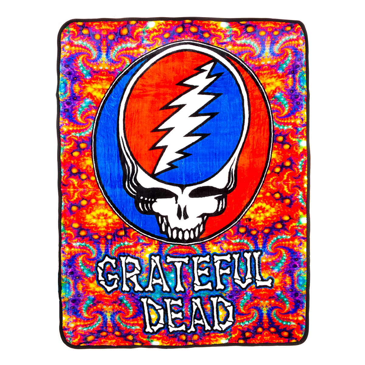 Grateful Dead Skull Fleece Throw