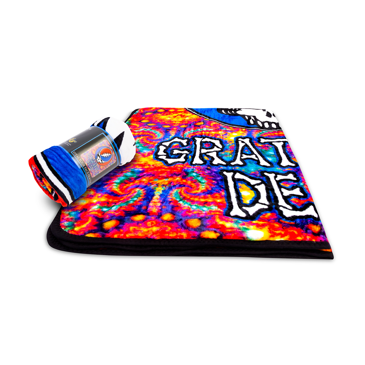 Grateful Dead Skull Fleece Throw