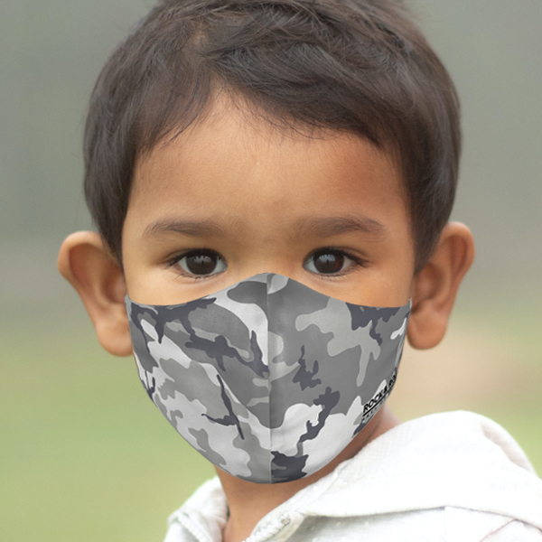 Youth Camo Face Mask