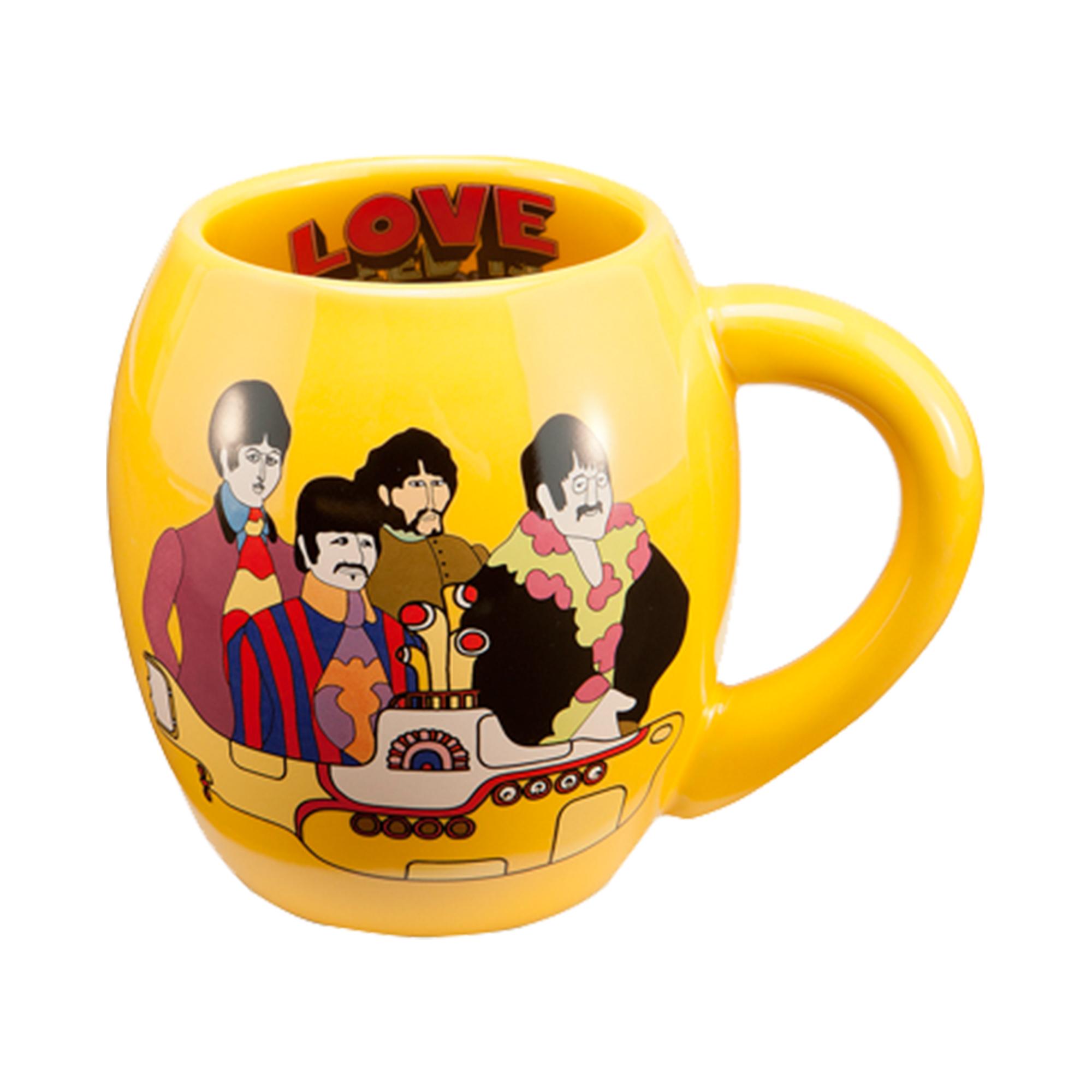 The Beatles Yellow Submarine Ceramic Mug
