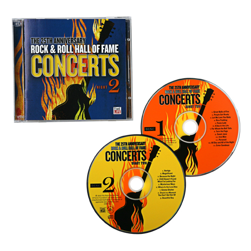 The 25Th Anniversary Rock & Roll Hall Of Fame Concerts Cd - Night 2