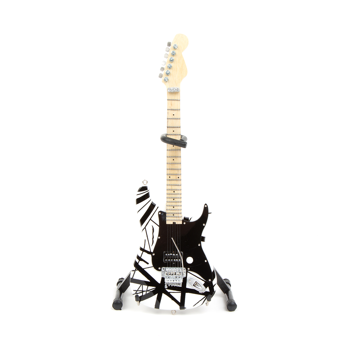 Eddie Van Halen Black & White Mini Guitar