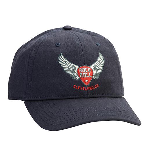 Winged Guitar Pick Cap