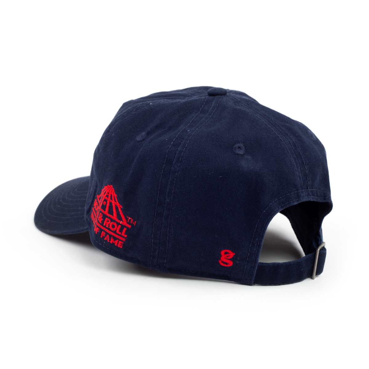 ROCK & ROLL HALL OF FAME NAVY TWILL CAP