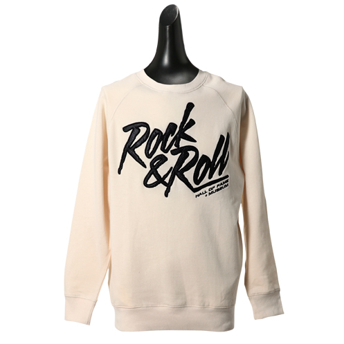 ROCK HALL CREAM CREW FLEECE