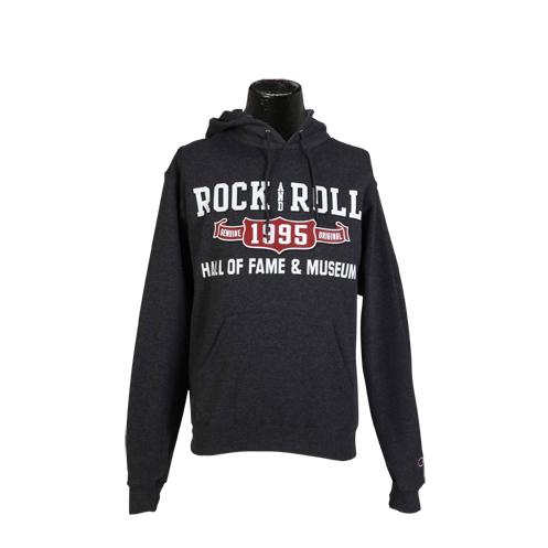 Men'S Grey Rock Hall Hoodie