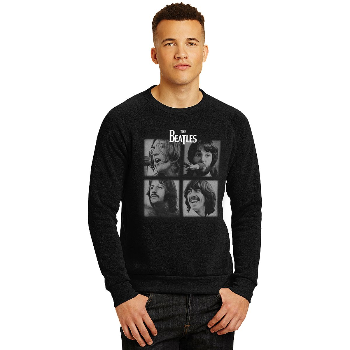 Let It Be Unisex Fleece Crew