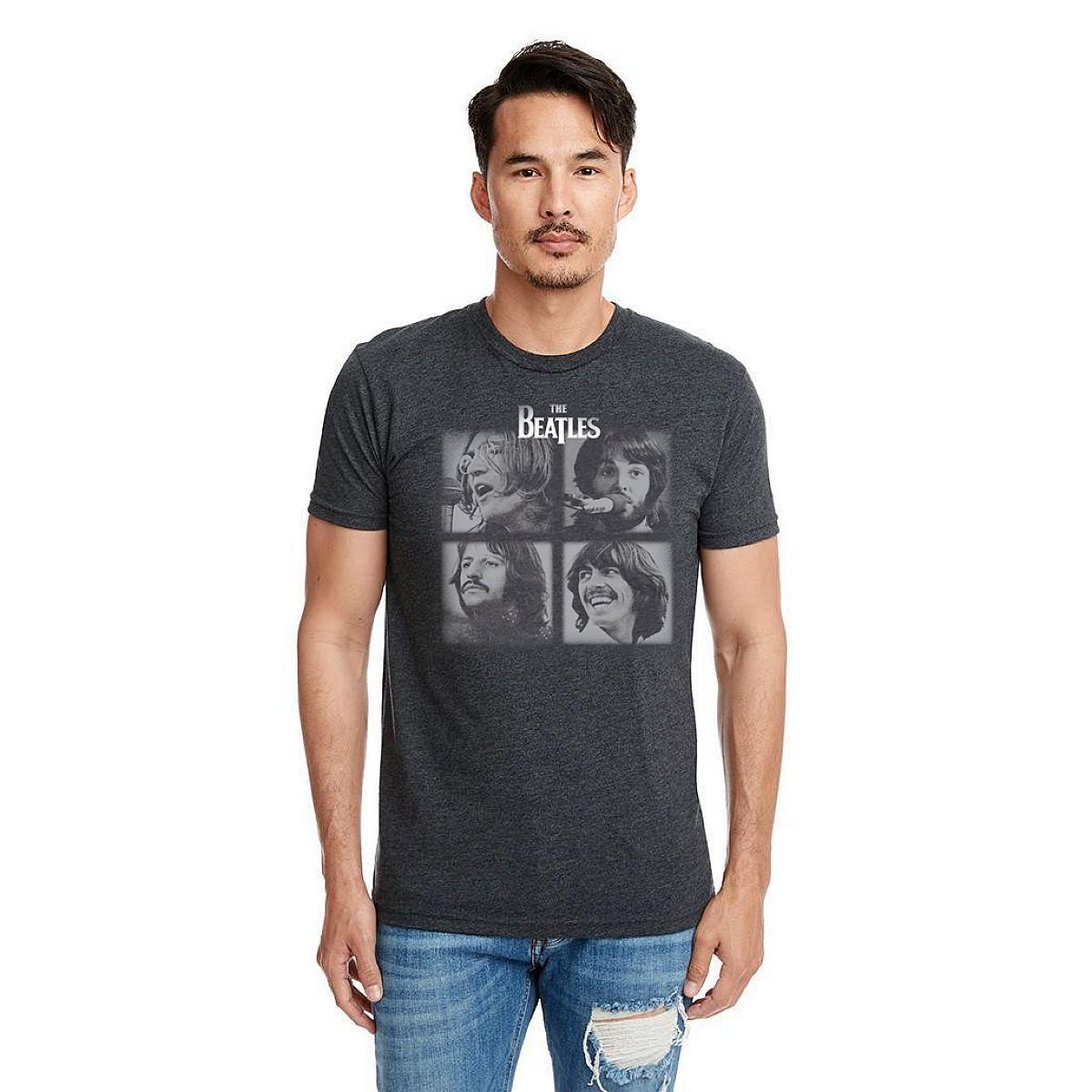 Let It Be Unisex Grey T-Shirt