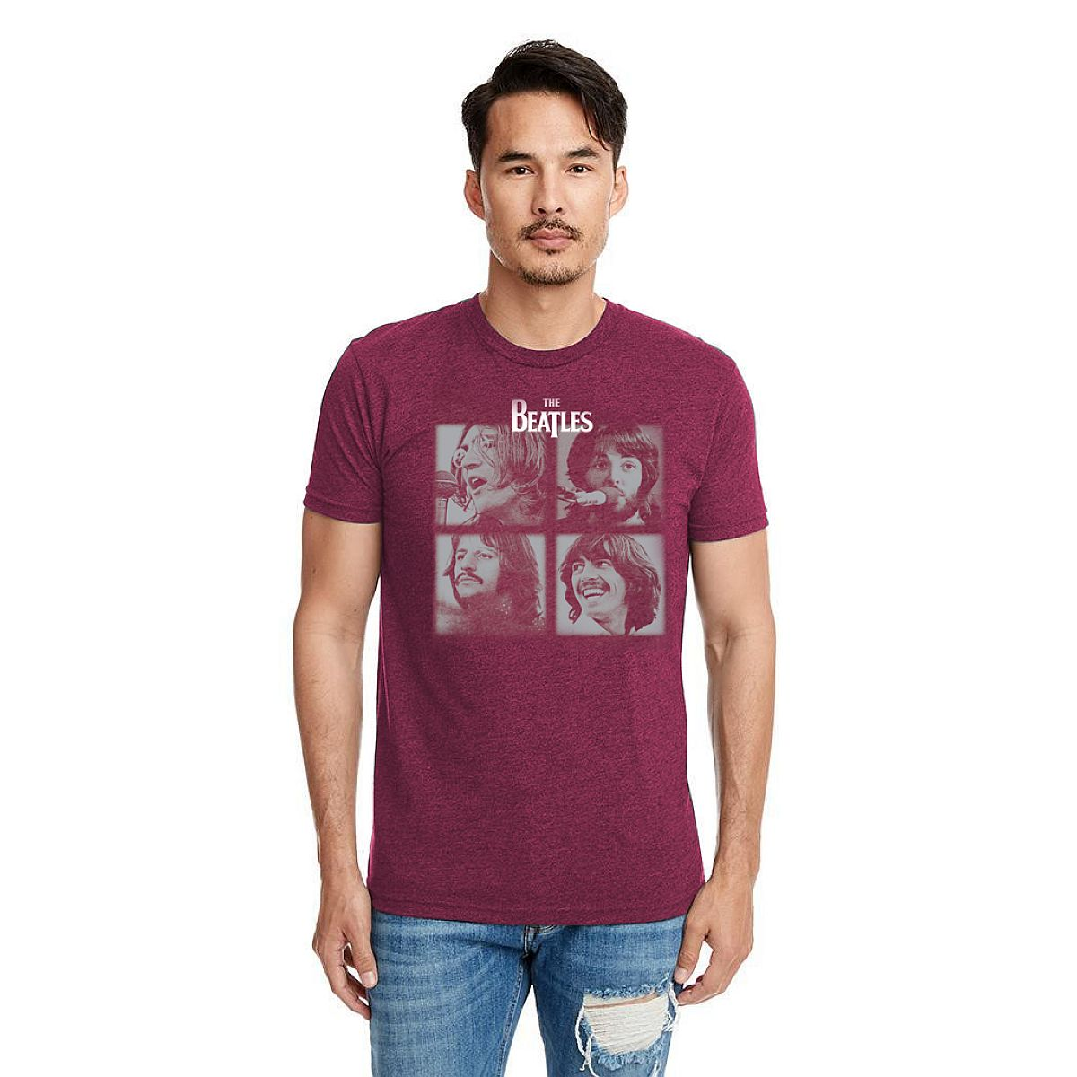 Let It Be Unisex Maroon T-Shirt