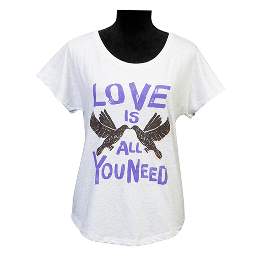 Ladies Love Is All You Need T-Shirt