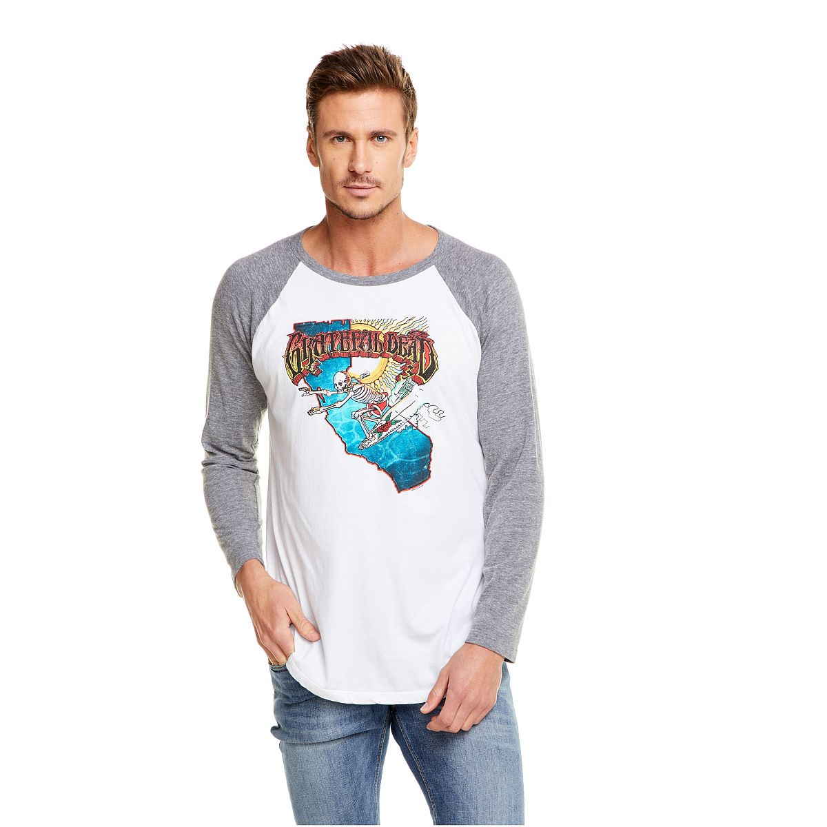 Grateful Dead Cali Surfer Raglan