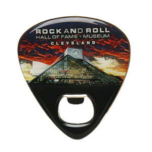 Guitar Pick Bottle Opener Magnet