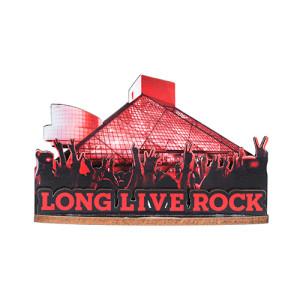 LONG LIVE ROCK 3D MAGNET