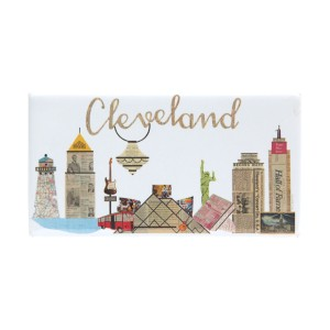 CLEVELAND MAGNET DESIGNED BY PAPER CUTZ