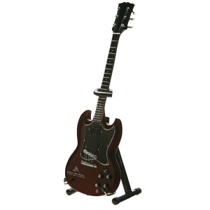 RED DOUBLE CUTAWAY MINI GUITAR