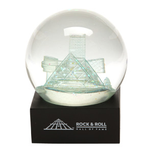 Rock Hall Snow Globe