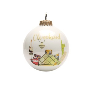 Cleveland Ornament Designed By Paper Cutz