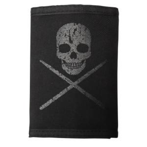 Skull With Drumsticks Wallet