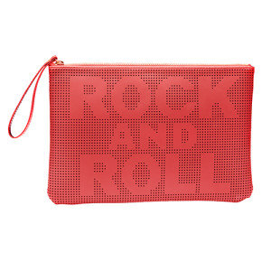 Rock And Roll Clutch Red
