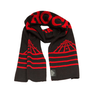 LONG LIVE ROCK KNIT SCARF