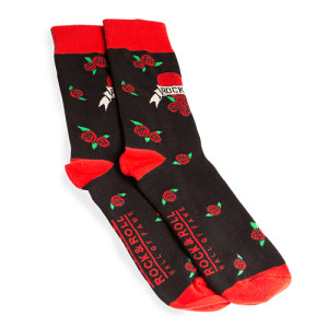 Heart Tattoo Socks