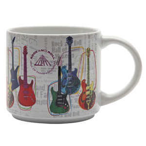 Guitar Collage Mug