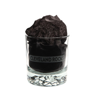 Tumbler Glass Cleveland Rocks