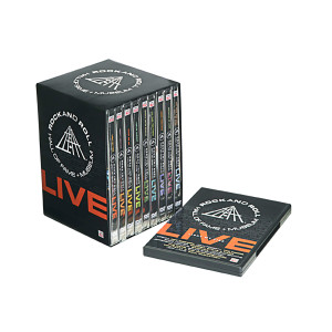 Rock And Roll Hall Of Fame Live 9 DVD Set