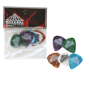 Rock Hall Guitar Picks Set Of 5