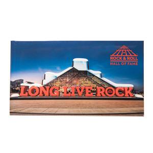 LONG LIVE ROCK & BUILDING MAGNET