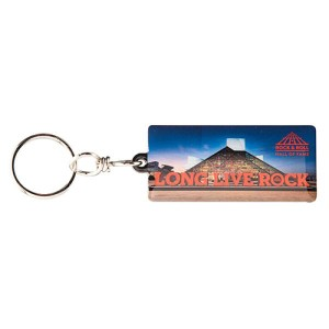LONG LIVE ROCK & BUILDING KEYRING