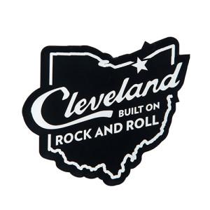 Cleveland Built On Rock & Roll Magnet
